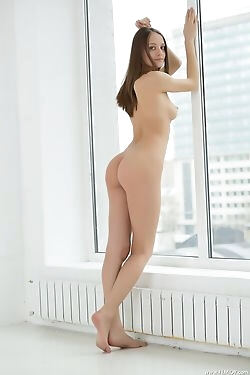 Pulled straight out of your wet dreams, she displays her entirely naked figure today