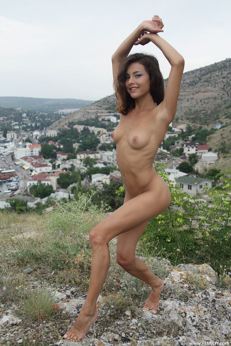 Erotic photos with Penelopea: River Of Love