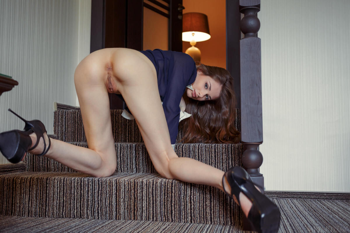 Erotic photos with Loretta A: After school