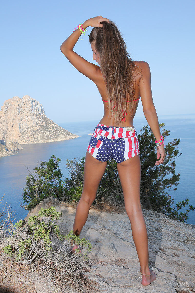 Erotic photos with Maria: On the Ibiza