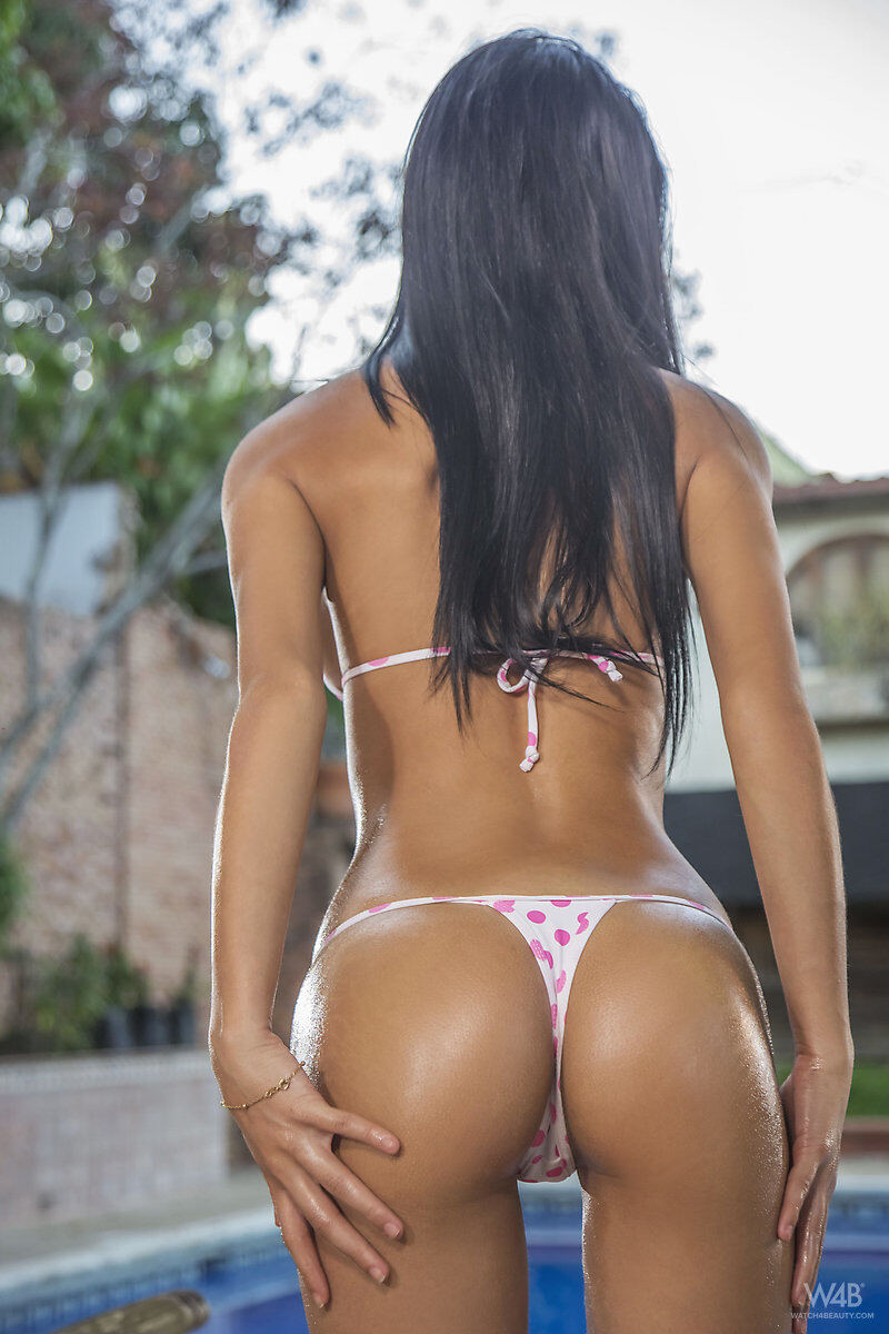 Erotic photos with Denisse Gomez: Wet Bikini