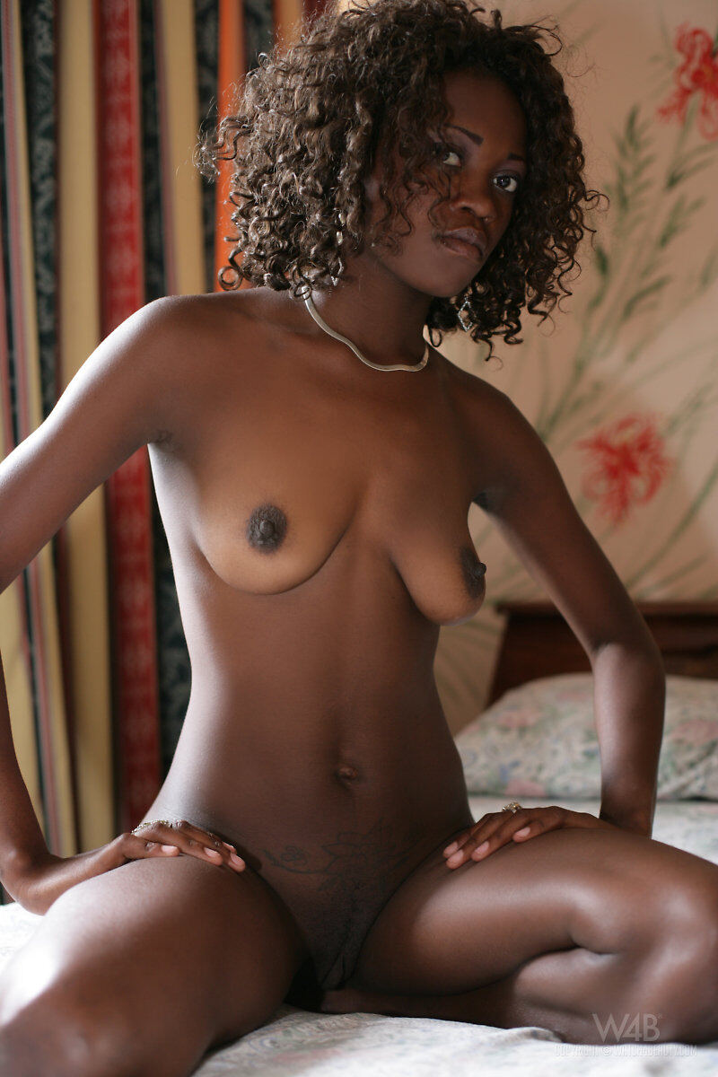 Beautiful Black Girl Naked